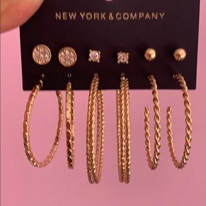Earrings.   New